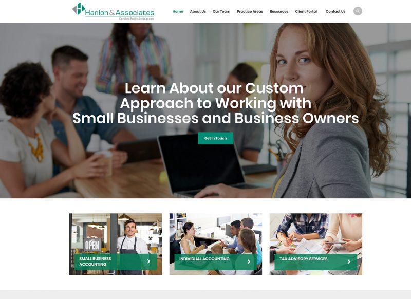 2018 New Website Design & Development
